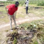 The land is being cleared for the Hand of Hope School compound.